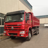 336HP Sinotruk HOWO 6X4 30 tonnellate di deposito/autocarro a cassone