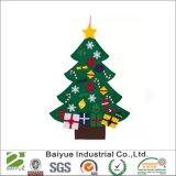 Decoração de Natal de recreio sentida em 100% poliéster amiga do ambiente