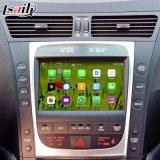 Androider Navigations-Kasten für Lexus GS450h GS350 Panorama 2005-2009 videoschnittstellen-Rückseite und 360 wahlweise freigestellt