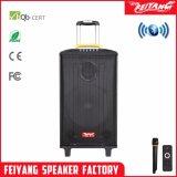 De Draagbare Navulbare Spreker Bluetooth van Feiyang met 2 UHFMic--Qx-1014