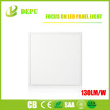 de 595*595 130lm/W LED de la lámpara del panel luz del panel del parpadeo 48W LED no
