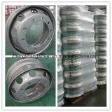 Бескамерные шины питания на заводе стальной колесный диск, бескамерные стальной колесный диск,бескамерные тяжелых погрузчик колесный диск для погрузчика