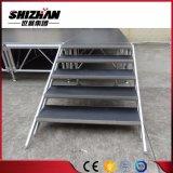 Fácil de instalar la plataforma de aluminio ajustable etapa retráctil
