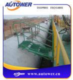 Escala de paso de progresión movible de la barandilla de la barandilla caliente de la venta para el depósito del petróleo