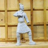 Estatua antigua de los guerreros de la terracota de la decoración del jardín de la reproducción de las estatuas de Xi'an