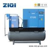 Compresor de aire de tornillo combinado de 7,5 kw