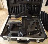 Europa-und Amerika-meistgekaufter Pistole-Schlag-Beweis-Aluminium-Kasten