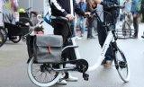 女性および女性のための方法生活様式の電気自転車