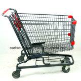 26L-170L roues pivotantes des chariots de magasinage pour les supermarchés