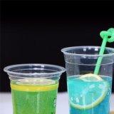 Parte de PET de plástico descartáveis copo de sumo beber Cup