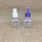 bottiglia di profumo sferica dello spruzzo di figura dell'animale domestico di plastica di 100ml Transprant