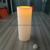 Plástico impermeable al aire libre Jardín mediante el parpadeo 5D*12h gran alumbrado con velas con temporizador