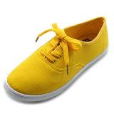 Grundlegende Art-Segeltuch-Schuhe für Frauen-Männer auf Lager