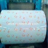 Design de flores Prime PPGI Prepainted bobina de aço galvanizado fabricados na China