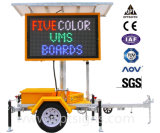Variable de couleur à matrice portable Traffic Message signes Conseil Mobile solaire 5 couleurs des machines virtuelles