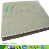 O Material de Construção em fibra de vidro Painel favo de plástico