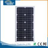 Réverbère solaire pur de la batterie au lithium du blanc 12.8V/9ah DEL