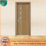 Desheng puerta de madera con vidrio diseños de casas en Pakistán