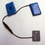7.4V, het Pak van de Batterij van het Polymeer van het Lithium 2600mAh voor Verwarmde Handschoen, Verwarmde Schoenen, Verwarmde Binnenzool, Verwarmde Producten (EH2600)