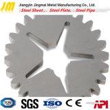 Parti di taglio di Laster di taglio del piatto d'acciaio di CNC di precisione