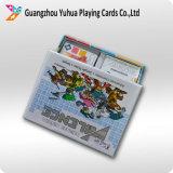 Juego de tarjeta adulto de aduana de la tarjeta que juega con insignia
