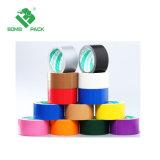 熱い販売法の高い付着の幅48mm単一の味方されたゴム製ダクトテープ