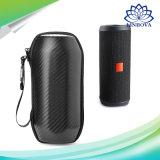 Portátil em fibra de carbono de alta qualidade para EVA Viagem Jbl Flip4 Alto-falante Bluetooth sem fio