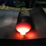 El CO2 del cilindro de gas caliente de tanque de oxígeno de la máquina girando