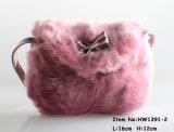 2018の新しい方法女性毛皮のハンドバッグ(HW1391-2)