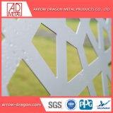 Corte a Laser de painéis de tela de alumínio com pintura metálica/ Parede Cortina Mashrabiya/ fachada de arquitetura