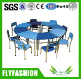 U 모양 Childern 테이블과 의자 가구 (SF-37C)