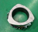 La industria petroquímica elementos Extrution tornillo tornillo de la maquinaria de plástico piezas Extrution