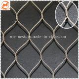 304 316動物のステンレス鋼Handwovenロープの網