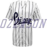 Dernière Design Fashion noir DRI FIT maillot de Baseball Personnalisé (B015)