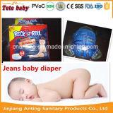 乾燥した、柔らかいOEMの使い捨て可能な赤ん坊のおむつの大人のおむつ(Anting)