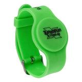 Wristband de goma del Lf RFID con el ancla para la gerencia de la prisión