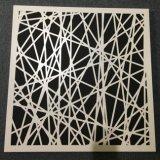 Plafond perforé en aluminium de panneau de découpage de laser pour la décoration de construction