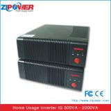 500 va 1000va 2000va de 12VCC o 24VCC Micro Inversor de potencia para el hogar