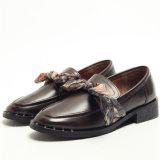 Nes Design Vento britânico Small Couro calçado para senhora