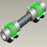 Accoppiamento flessibile di Falk dell'accoppiamento di Steelflex dell'accoppiamento di griglia