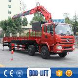 소형 픽업 트럭 기중기 및 8 톤에 의하여 사용되는 기중기 트럭