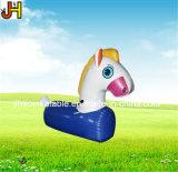 Kundenspezifisches aufblasbares reizendes Pony, aufblasbares laufendes Pferd