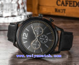Relojes vendedores calientes del cuarzo del reloj del suizo para los hombres (WY-G17012B)