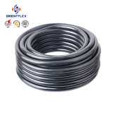 Boyau de gaz de PVC de filé de textile de Renfort-Polyester