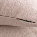 Cassa del cuscino stampata tela astratta del cotone della geometria senza farcire (35C0236)