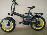 20 '' faltbares fettes Fahrrad-Schmutz-Fahrrad-Strand-Fahrrad des Gummireifen-E