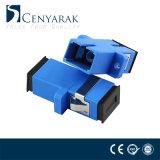 Sc aan Sc de SimplexKoppeling van de Adapter van de Vezel Optische Plastic