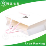 2017 Bolsa de papel comercial de arte de la flor de papel de regalo bolsas impresas bolsas de regalo de papel bolsas de papel de arte