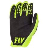 Fly Racing Lite водорода Mx грязь на велосипеде перчатки желтого цвета
