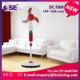 Ventilador solar del zócalo de la C.C. de la alta calidad con la luz (LSF-16K-RED)
